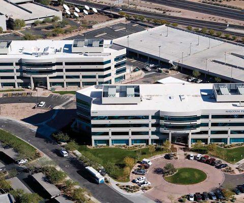 East Gateway Centre office complex at the Phoenix Gateway Office Park in Phoenix, Arizona