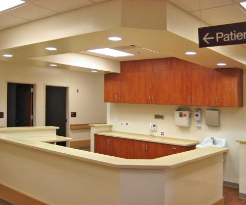 Interior of the Rockford VA Outpatient Clinic