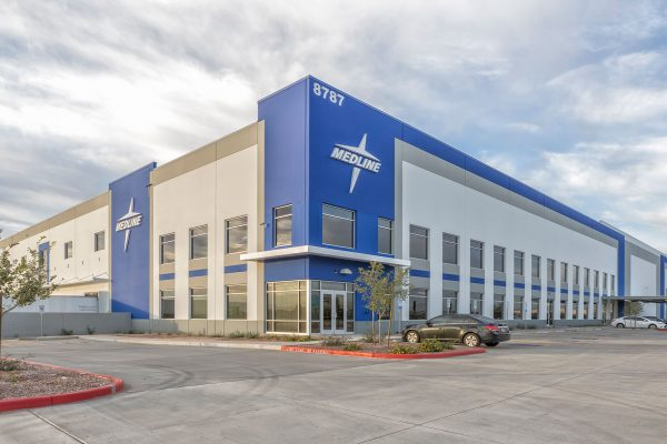 Medline Industries distribution center in Phoenix, Arizona