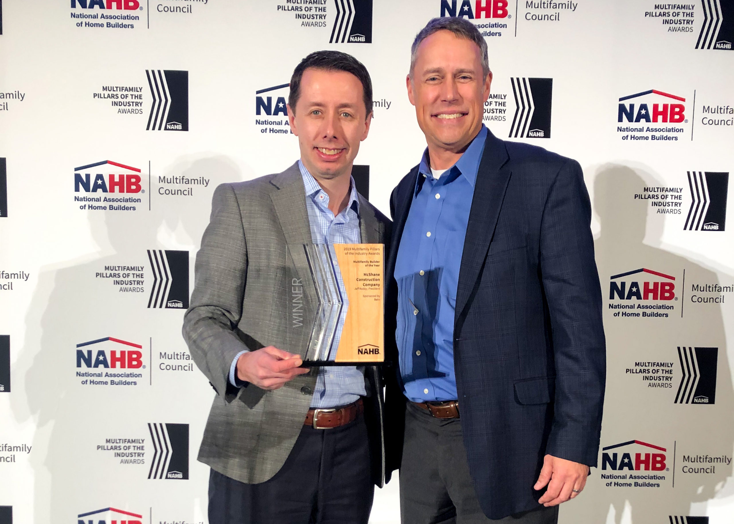 2019 National Multi-Family Builder of the Year